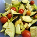 Заморозка овощей (баклажаны, помидоры и перец)