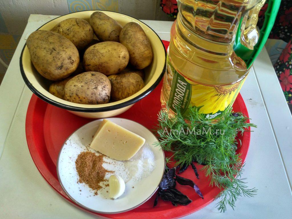 Как запечь картофель в пакете - ингредиенты простого рецепта