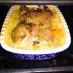 Рис с индейкой в духовке