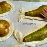 Приготовление печеных груш с конфетами или шоколадом