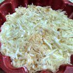 Приготовление яблочного насыпного пирога
