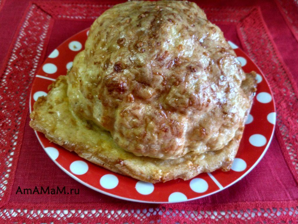 Пирог (запеканка) из кочана цветной капусты