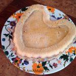 Пирог песочный насыпной с яблоками и бананами