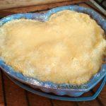 Пирог яблочно-банановый насыпной