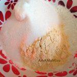 Сахар, кукурузная мука и кукурузный крахмал