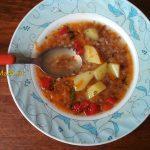 Суп гречневый с картофелем, морковью и сладким перцем