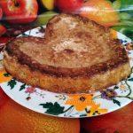 """Овсяный насыпной пирог """"3 стакана"""" с морковью и яблоками"""