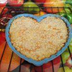 Пирог из овсяных хлопьев яблочный с морковью