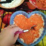 Фруктовый пирог с морковью и яблоками