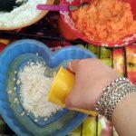 Этапы сборки насыпного пирога