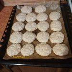 Овсяное печенье песочное