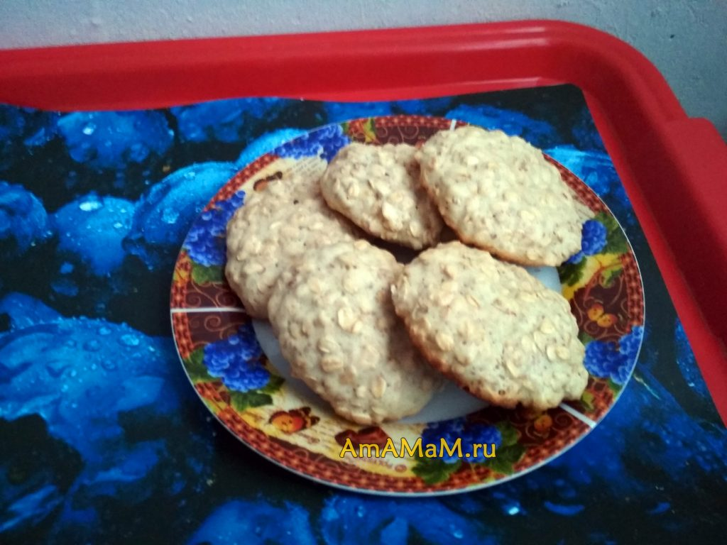Овсяное печенье - фото