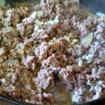 Начинка мясная для пирога из фарша