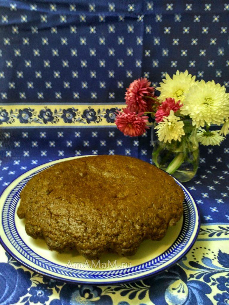 Шоколадный пирог -рецепт простого пирога