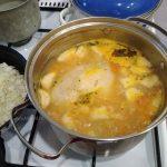 Суп с картофелем и галушками - рецепт