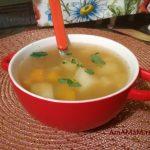 Суп из головы горбуши, костей и обрезков