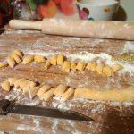 Макароны ньокки домашнего приготовления (с тыквой)