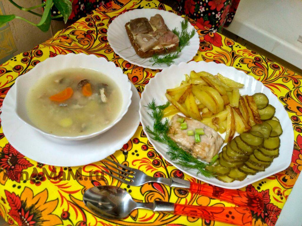 Блюда из лакедры - рецепты с фото