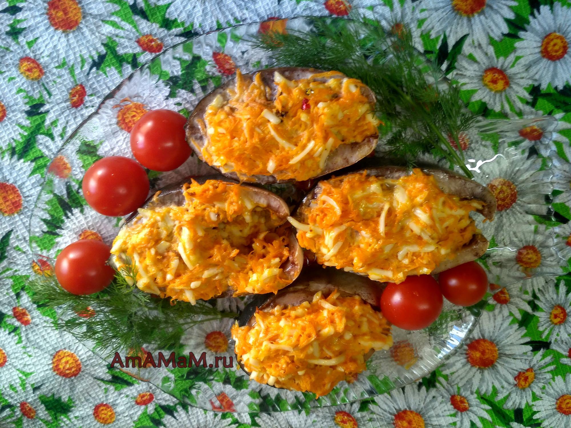 Рыба лакедра под шубой из сыра с морковью
