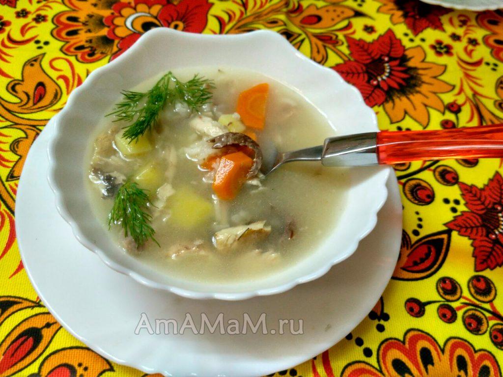 Рыбный суп из лакедры - вкусный и простой