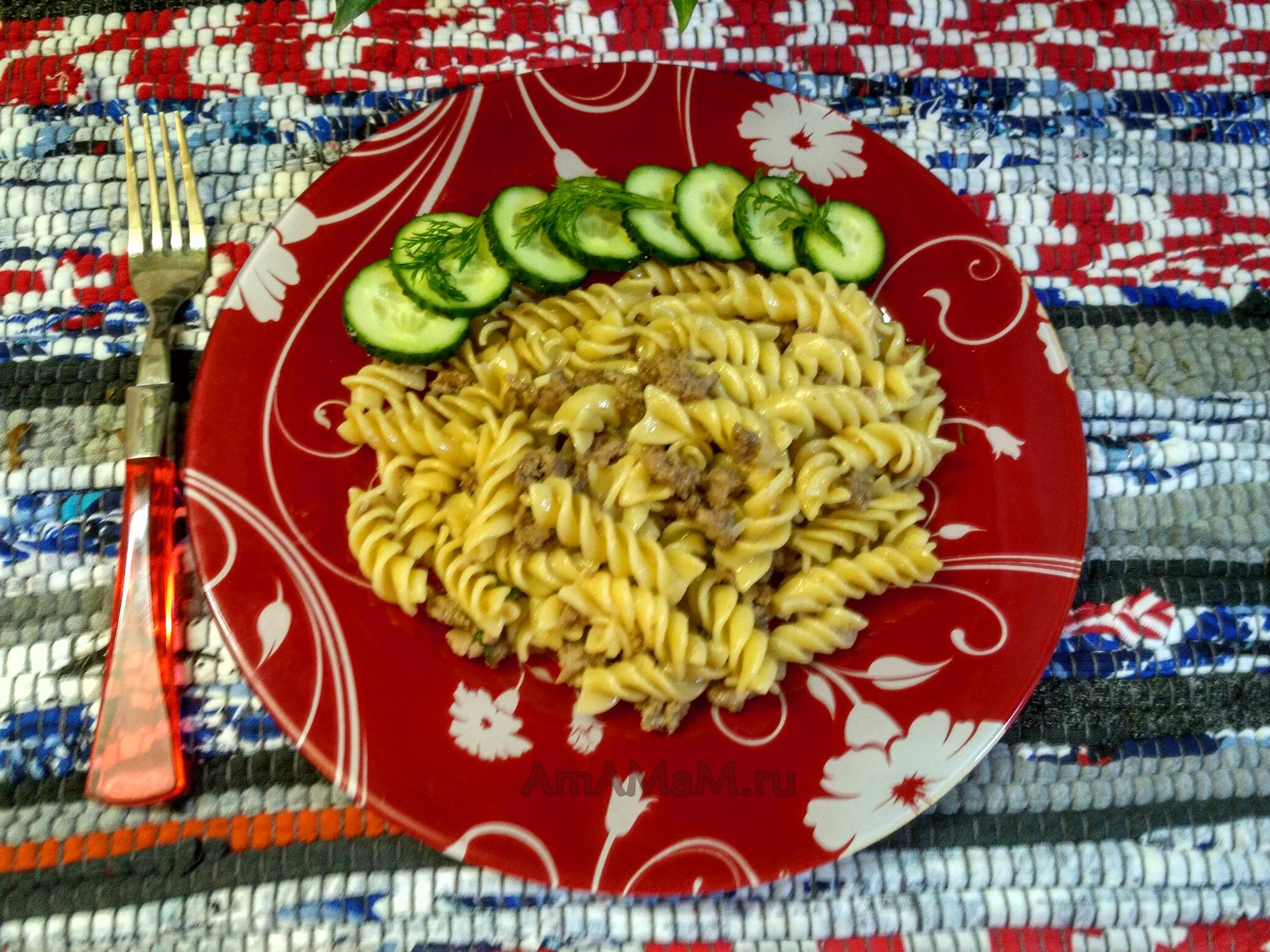 Рецепт макарон по-флотски - самый быстрый и простой
