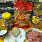 Что требуется для макарон по-флотски - состав и рецепт