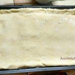 Пирог из капусты - сборка