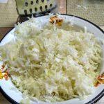 Измельченная капуста для начинки пирога
