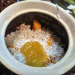 Сборка рисовой каши с тыквой