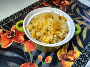 Каша с тыквой рисовая
