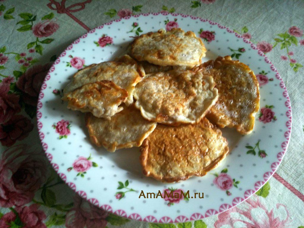 Оладьи овсяные домашние по быстрому рецепту