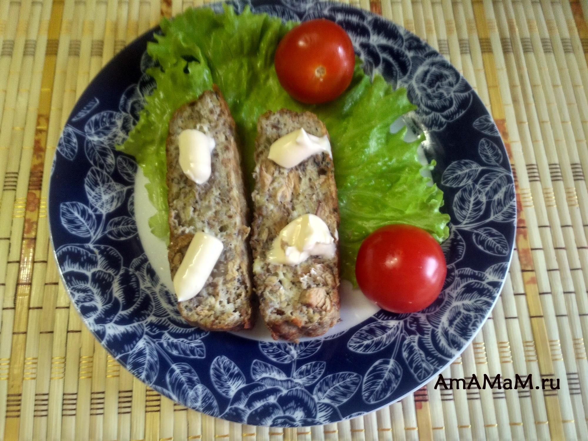 Рецепт рыбного суфле из сайры