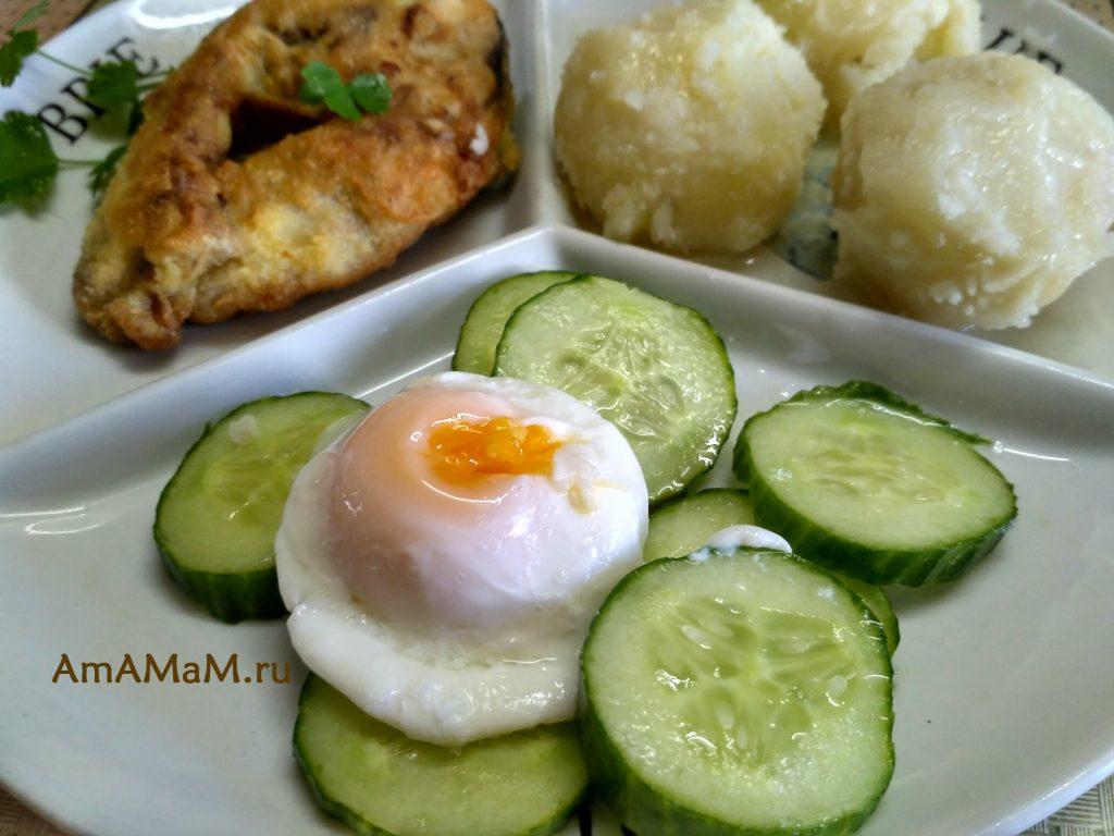 Яйца пашот - рецепт