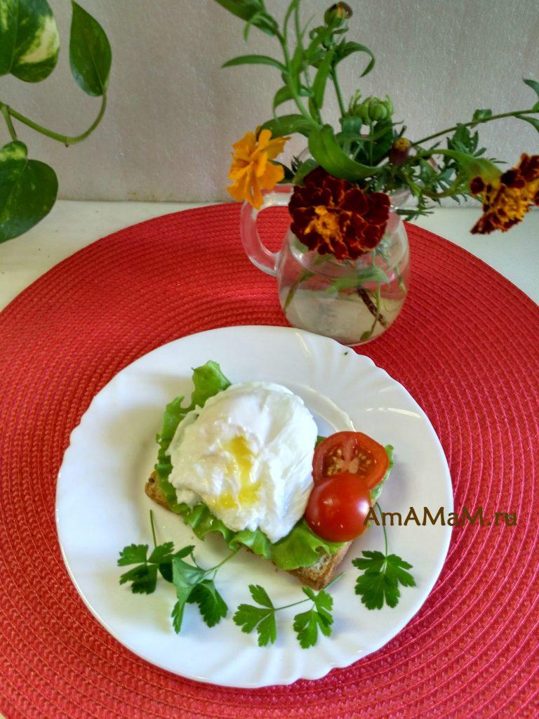 Яйца пашот - фото