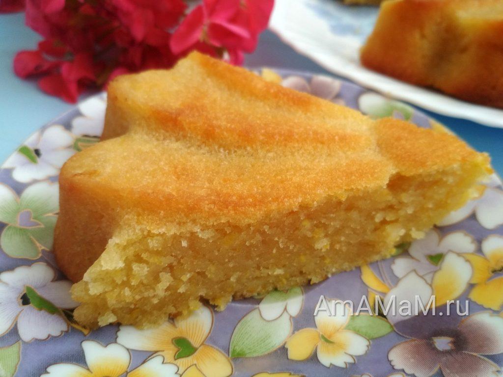 Пирожок с апельсинами