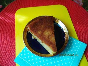 Апельсиново-банановый пирог