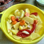 Овощи на гарнир к свиным ребрышкам