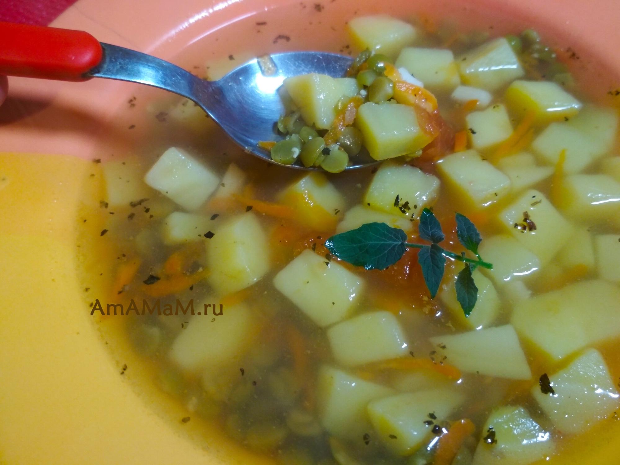 Суп гороховый на обед