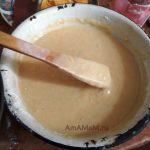 Рецепт апельсинового кекса - фото консистенции теста