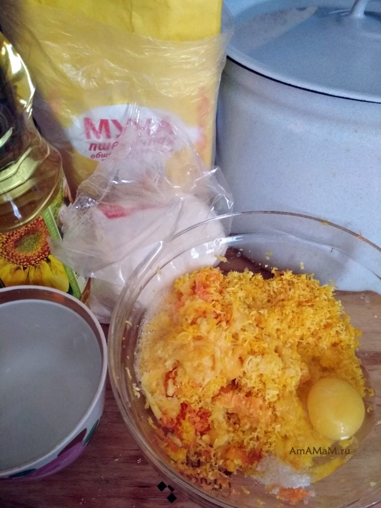 Ингредиенты рецепта кекса