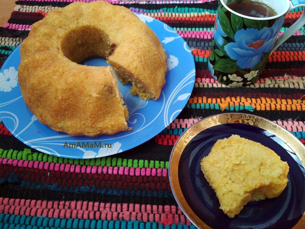 Вкусный домашний кекс из простых продуктов