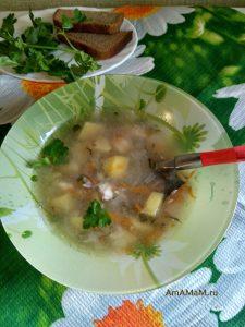 Суп польский рассольник
