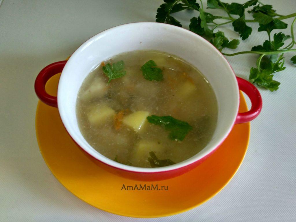 Суп-рассольник польский