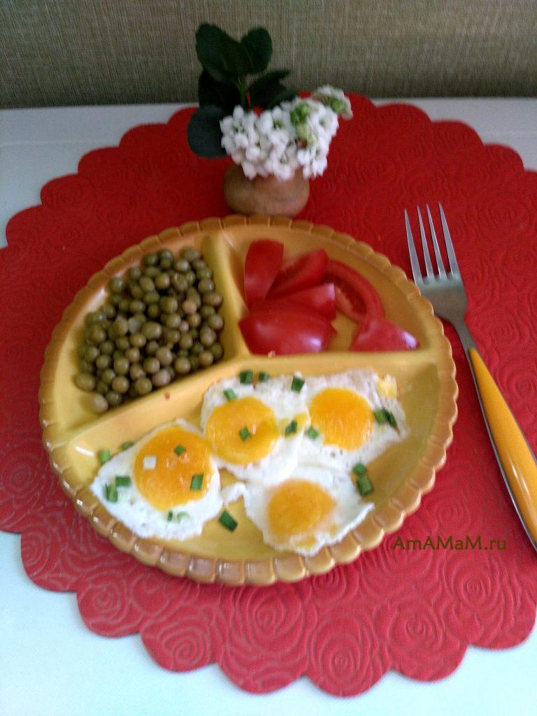 Глазунья из замороженных яиц - способ приготовления