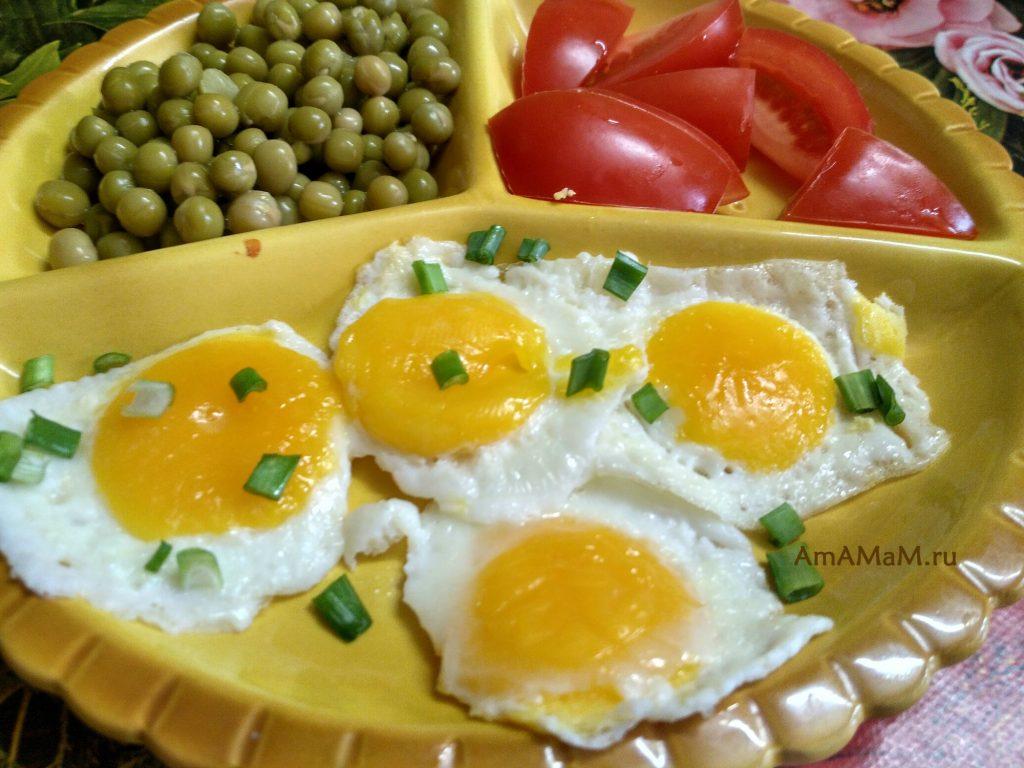 Яйца замороженные сырые - рецепт яичницы-глазуньи