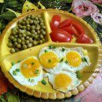 Яичница-глазунья из замороженного яйца