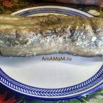 Блюдо из свиной грудинки - вареная в специях