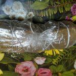 Грудинка в пакете для запекания, завязанная веревочкой