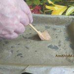 Смазывание бумаги для выпечки смаслом
