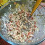 Салат из сыра и помидоров